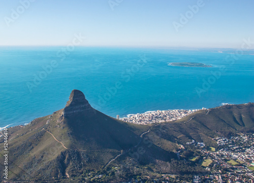 Scenic View in Cape Town, Table Mountain, South Africa