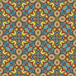 old seamless pattern with ethnicity motif