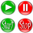 button set start stop