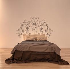 Vintage bed room