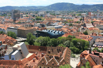 Austria. Graz. The ancient architecture.