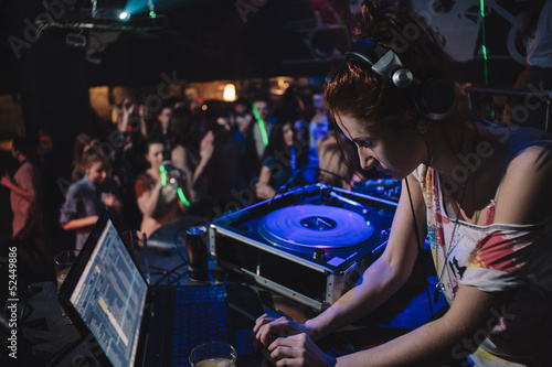 Young Dj Girl