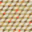 Geometric Background - Seamless Pattern in Vintage Colors
