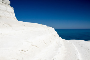 White Cliffs at Scala dei Turchi