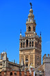 La Giralda, famous Cathedral of Sevilla in Andalusia