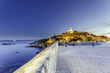 Obrazy na płótnie, fototapety, zdjęcia, fotoobrazy drukowane : Veduta Ibiza Città Castello