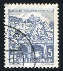 Rudelsburg on Saale