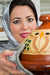 Traditional tajine dish