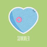 Summer pool-love