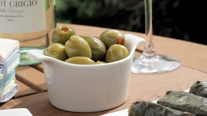 Green Olive Appetizer