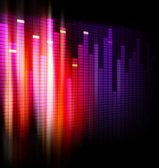 Equalizer background design