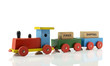 locomotive train with free shipping blocks