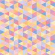 Geometric Background - Seamless Pattern - Vintage