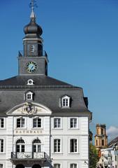 Saarbrücken Altes Rathaus und Ludwigskirche