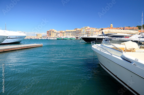 canvas print picture Saint Tropez