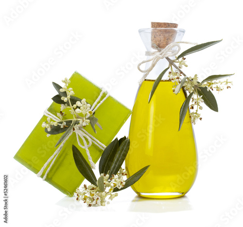 Soap and olive oil