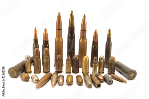 bullets and cartridges