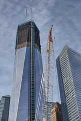 View of Freedom Tower and surrounding Buildings, Manhattan