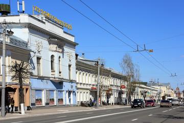 Владимир. Улица Большая Московская.