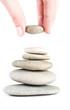 stones in balanced pile