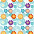 Seamless flowery design