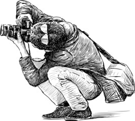 photographer behind work