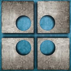 astratto forato 4 azzurro