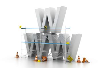 www under construction