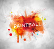 Paintball banner