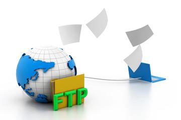Uploading ftp Server