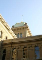 Teil des Bundeshauses in Bern