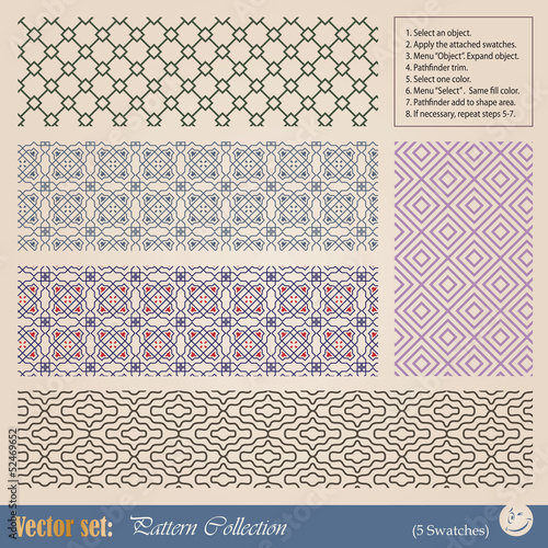 Vector seamless pattern for decoration and design