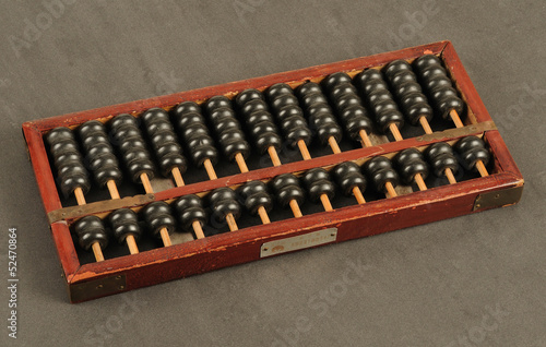 ancient Chinese abacus