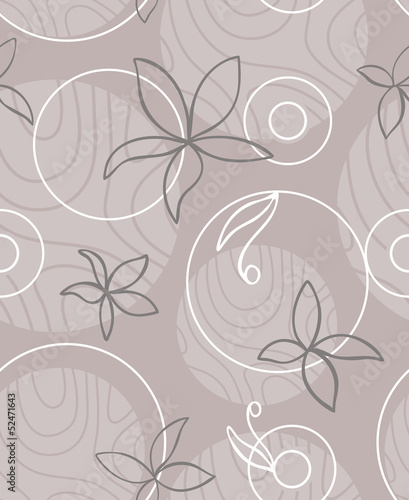 White mauve flowers abstract texture