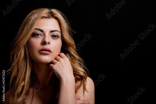 Fototapeten,jung,frau,hübsch,close-up