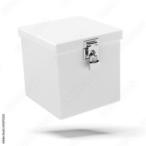 box with lock