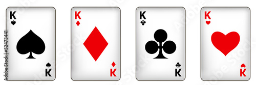 playing cards. 10eps vector mesh illustration