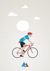 cycliste vintage 3