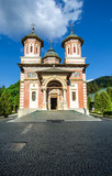 The Sinaia Monastery - front view poster