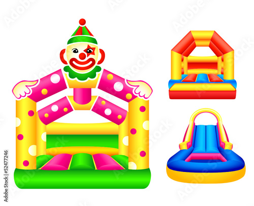 Bouncing or jumping castles design