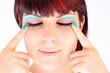Auffallendes Make Up