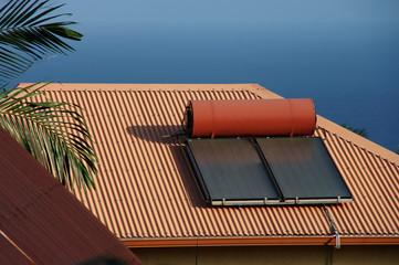 Île de la Réunion - Chauffe-eau solaire 1