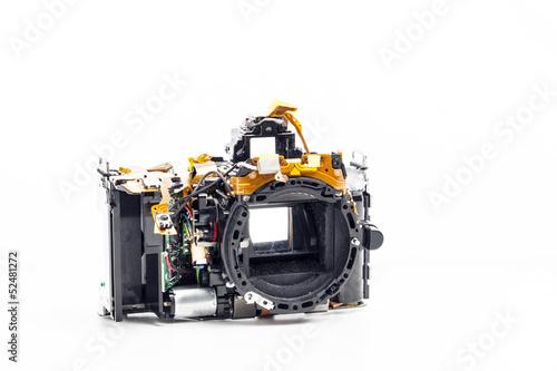 disassembled photo camera - 52481272