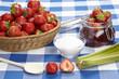 Erdbeermarmelade einkochen