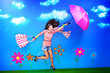 flying gait