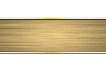Template of gold plate. Design element