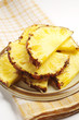 Sweet pineapple slices