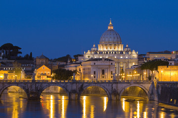Vatican at night, Rome
