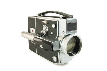 Super 8mm film movie camera