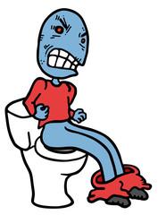 Rebel toilet